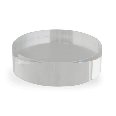 Port 68 - Lucite Round Stand(Set Of 2) - STCM-135-06