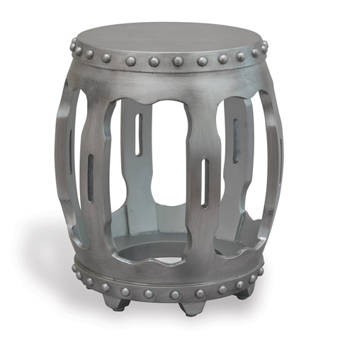 Image of Empress Silver Accent Table