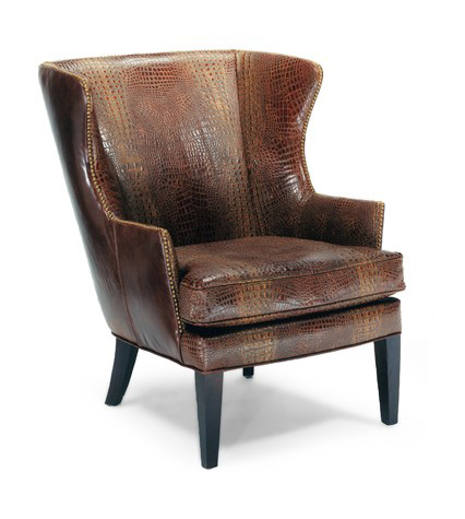 Precedent - Leather Wing Chair - L2509-C1
