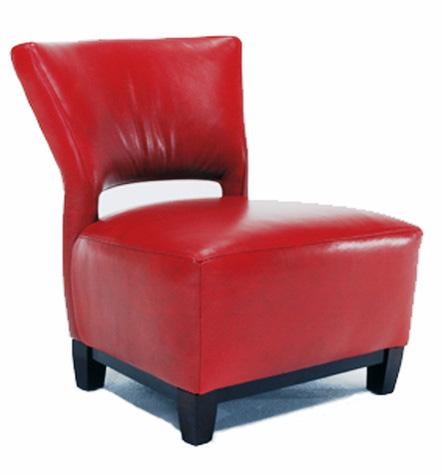 Precedent - Leather Slipper Chair - L2553-A1