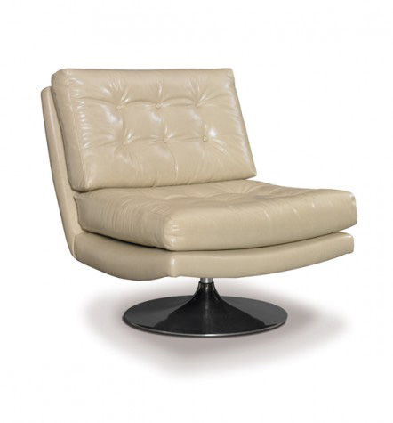 Precedent - Leather Swivel Chair - L3106-A1