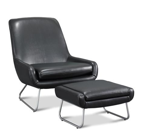 Precedent - Edwin Leather Chair - L3205-C1