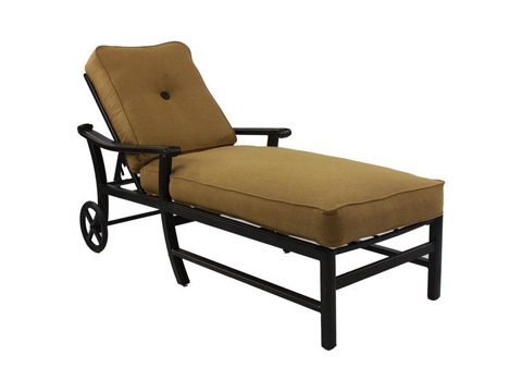 Castelle - Chateau Cushioned Chaise Lounge - 1212T