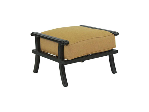 Castelle - Chateau Cushioned Ottoman - 1213T