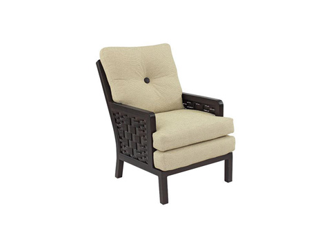 Castelle - Spanish Bay Cushioned Dining Chair - 1906R