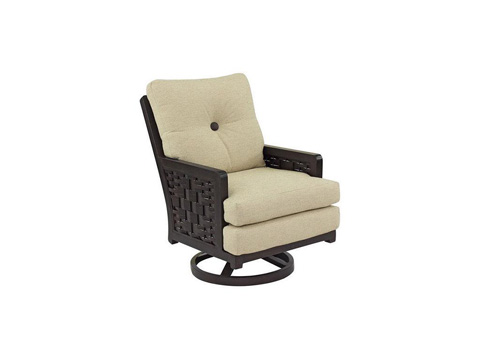 Image of Spanish Bay Cushioned Swivel Rocker