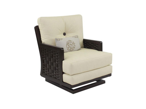 Image of Spanish Bay Cushioned Action Chair