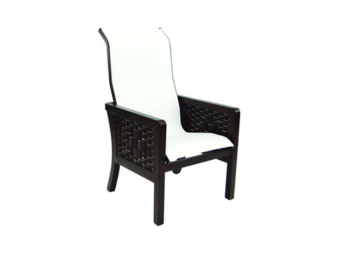 Image of Spanish Bay Sling Dining Chair