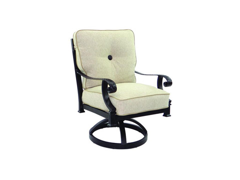 Castelle - Bellagio Cushioned Swivel Rocker - 2607T