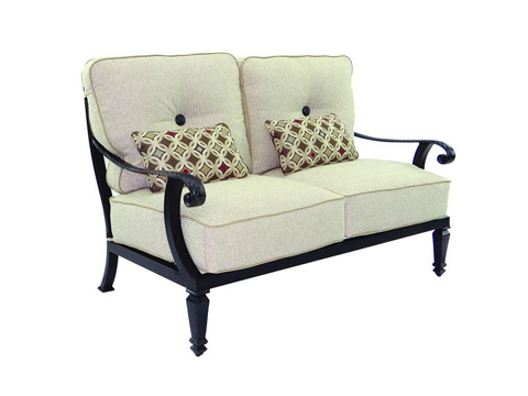 Image of Bellagio Cushioned Loveseat