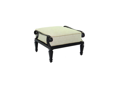 Image of Bellagio Cushioned Ottoman