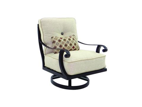 Image of Bellagio Cushioned Swivel Rocker Chair