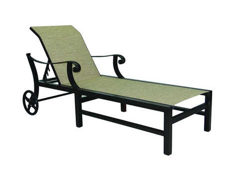 Castelle - Bellagio Adjustable Sling Chaise Lounge - 2692S