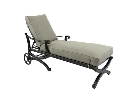 Image of Telluride Cushioned Chaise Lounge