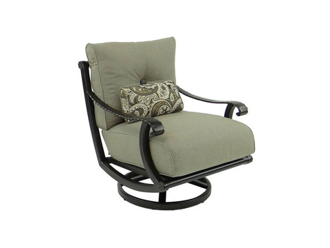 Image of Telluride Cushioned Lounge Swivel Rocker
