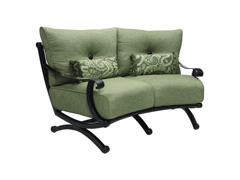 Image of Telluride Crescent Loveseat