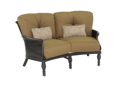 Image of English Garden Crescent Loveseat