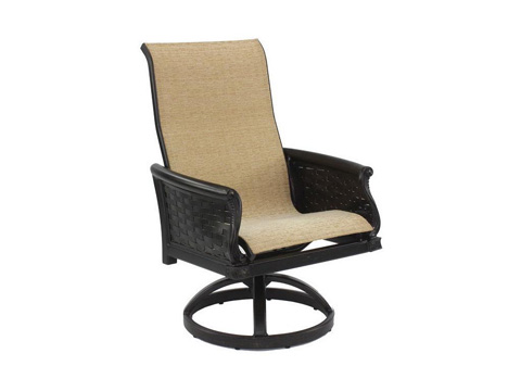 Image of English Garden Sling Swivel Rocker