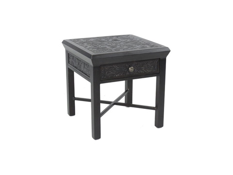 Image of Chateau Square Side Table with Drawer