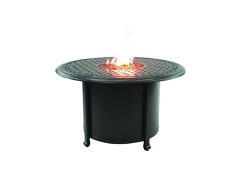 Image of Sienna Fire Pit Round Firepit Coffee Table
