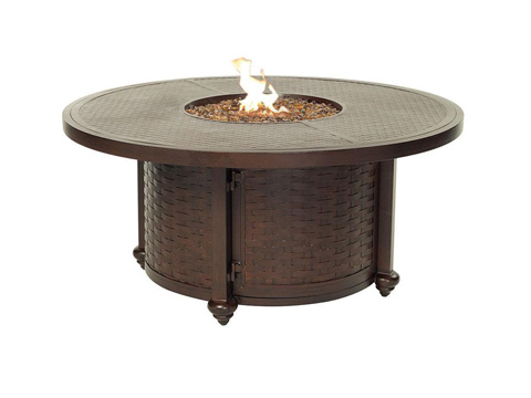 Image of French Quarter Fire Pit Round Coffee Table