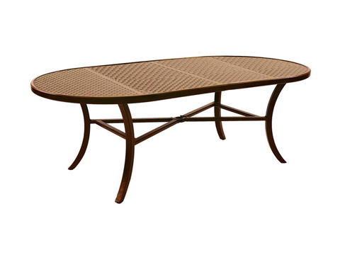 Castelle - Oval Dining Table - SOD84