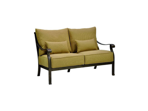 Castelle - Madrid Cushion Loveseat - 3811T