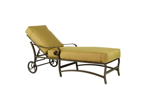 Castelle - Veracruz Cushion Chaise Lounge - 4012T