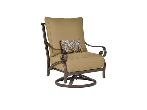 Castelle - Veracruz Cushion Lounge Swivel Rocker - 4016T