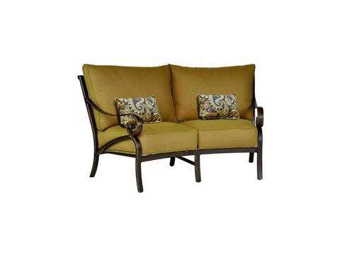Castelle - Veracruz Cushion Crescent Loveseat - 4041T