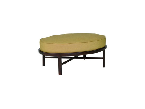 Castelle - Veracruz Cushion Oval Ottoman - 4043T