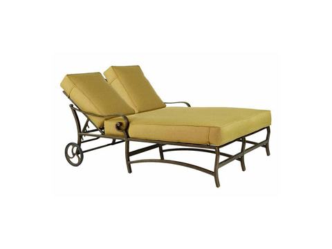 Image of Veracruz Cushion Double Chaise Lounge