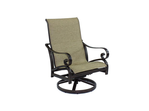 Image of Veracruz Sling Lounge Swivel Rocker
