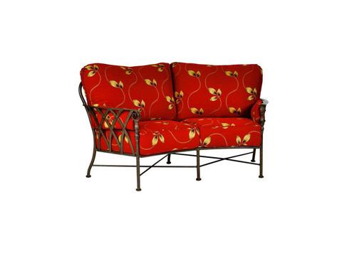 Image of Veranda Cushion Crescent Loveseat