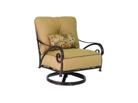 Castelle - Lucerne Cushion Lounge Swivel Rocker - 4715T