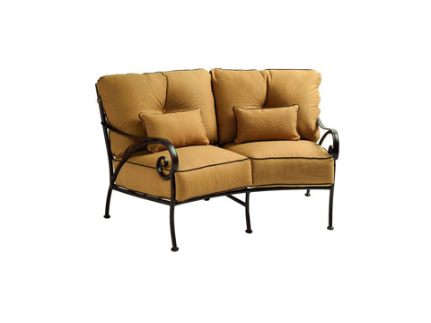 Image of Lucerne Cushion Crescent Loveseat