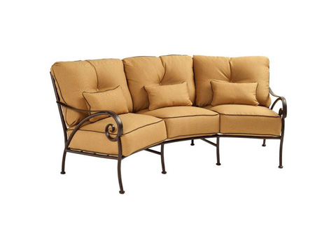 Image of Lucerne Cushion Crescent Sofa