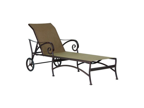 Image of Lucerne Sling Chaise Lounge