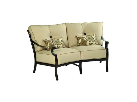 Castelle - Monterey Cushion Crescent Loveseat - 5841T