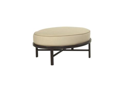 Castelle - Monterey Cushion Oval Ottoman - 5843T