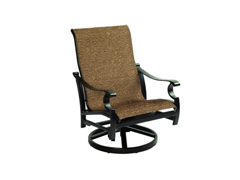 Image of Monterey Sling Lounge Swivel Rocker