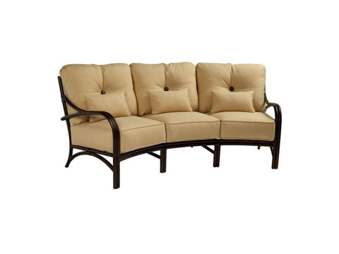 Castelle - Sundance Cushion Crescent Sofa - 6644T
