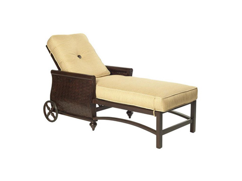 Image of French Quarter Cushion Chaise Lounge