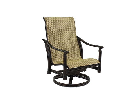 Image of Coco Isle Sling Lounge Swivel Rocker