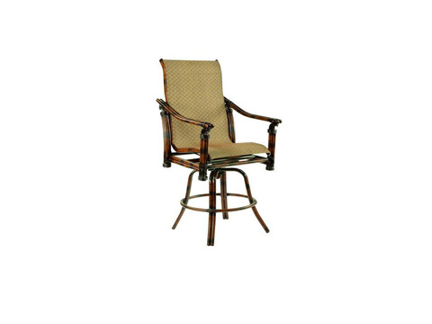 Castelle - Coco Isle High Back Swivel Counter Chair - 8899MS