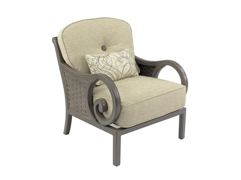 Castelle - Riviera Cushioned Lounge Chair - 9210T