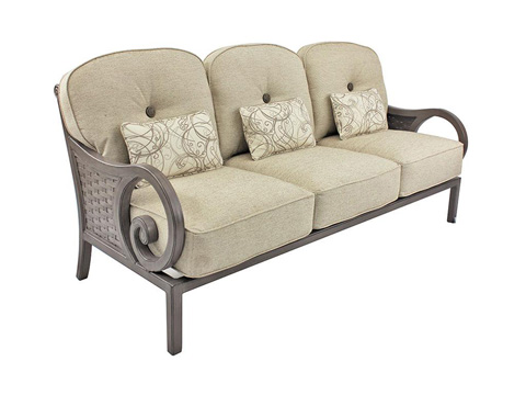 Image of Riviera Cushioned Sofa