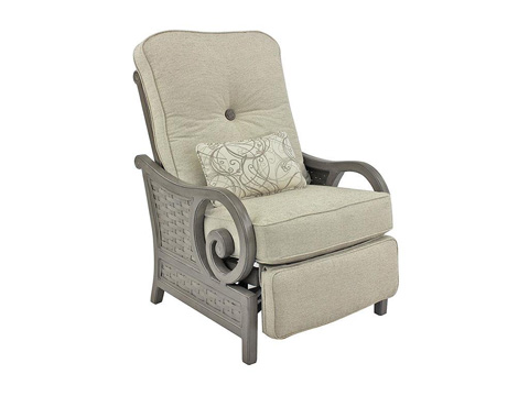 Image of Riviera Cushioned Recliner Chair
