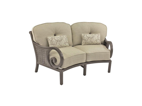 Image of Riviera Crescent Loveseat