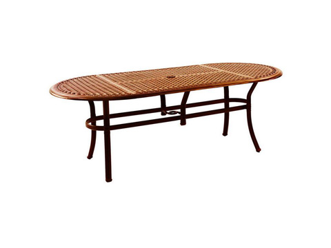 Image of 84' Oval Dining Table